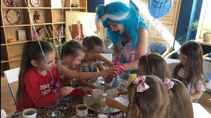 Детский праздник в Лофте 1