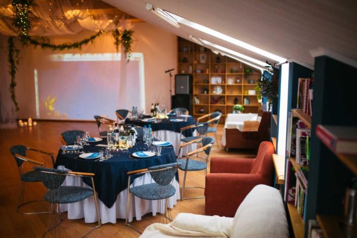 Свадьба в Орле - банкетный зал ресторана Лабиринт - лофт 4