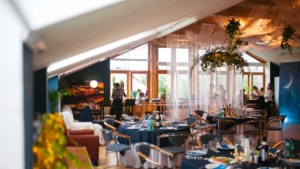 Свадьба в Орле - банкетный зал ресторана Лабиринт - лофт 5