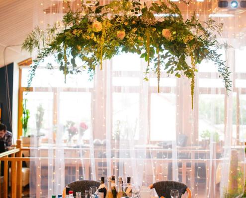 Свадьба в Орле - банкетный зал ресторана Лабиринт - лофт 6