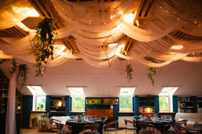 Свадьба в Орле - банкетный зал ресторана Лабиринт - лофт 7