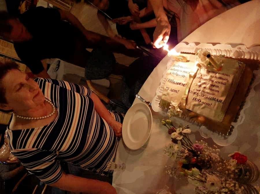 Торт на юбилей в Орле