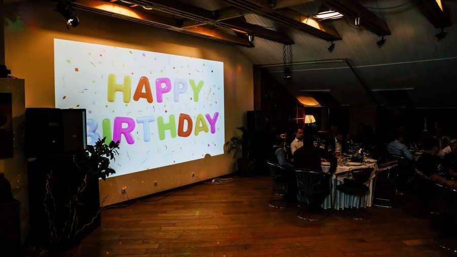 Ресторан для дня рождения