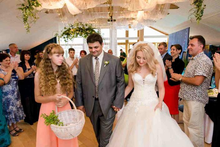 Красивая свадьбв в Орле